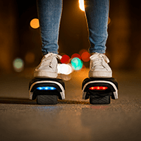 Role electrice Drift W1 Segway - lumini ambientale