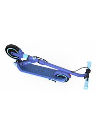 E8 Blue_Folded KickScooter (2)